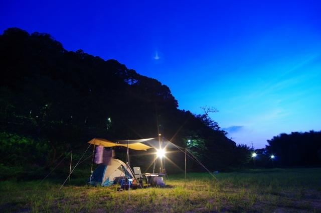 キャンプの夜