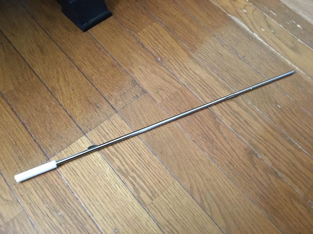 ビニール傘の芯棒
