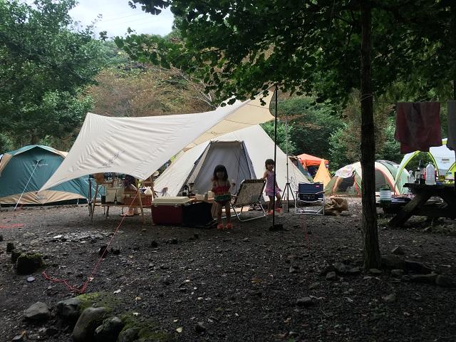 テント&タープ設営完了♪