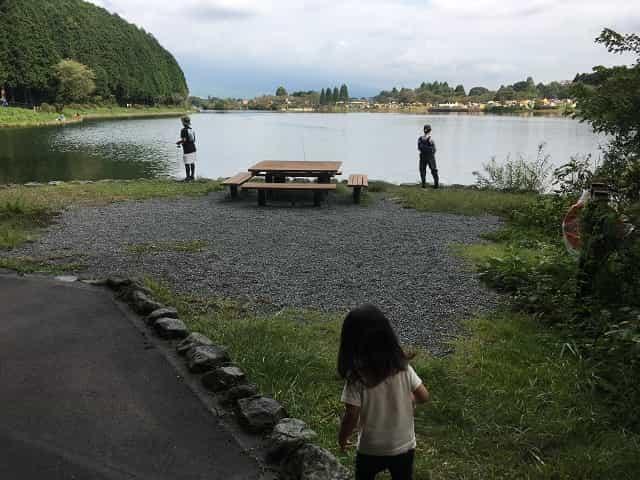 田貫湖キャンプ場 ポケットひろば