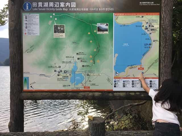 田貫湖一周もようやく折り返し!