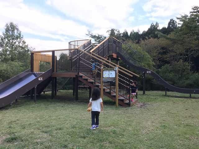 田貫湖キャンプ場 展望遊具
