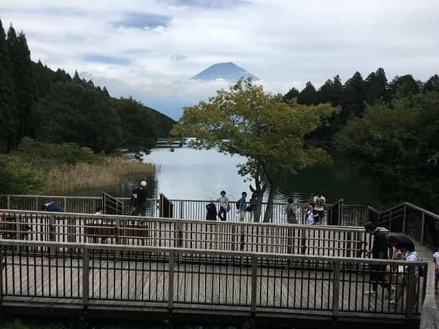 田貫湖キャンプ場 展望デッキ
