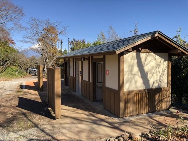 野田山健康緑地公園キャンプ場 トイレ
