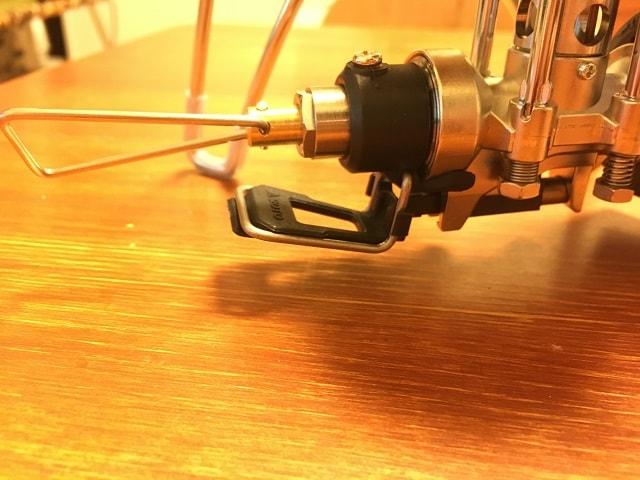 専用点火アシストレバーST-3104 取付完了01