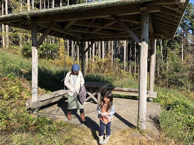 野田山健康緑地公園キャンプ場 四阿