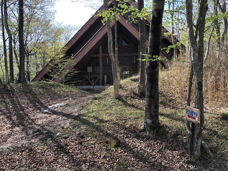 十里木キャンプ場 避難棟外観