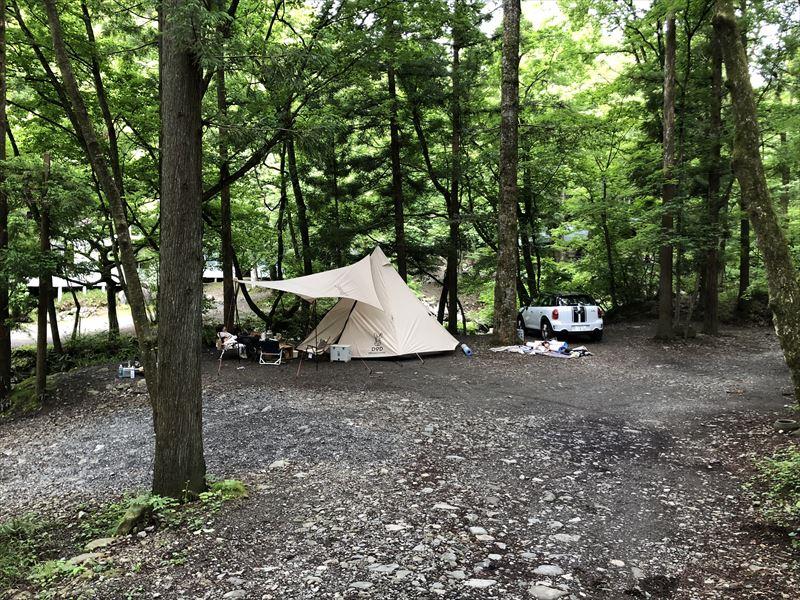 道志の森キャンプ場 サイト04