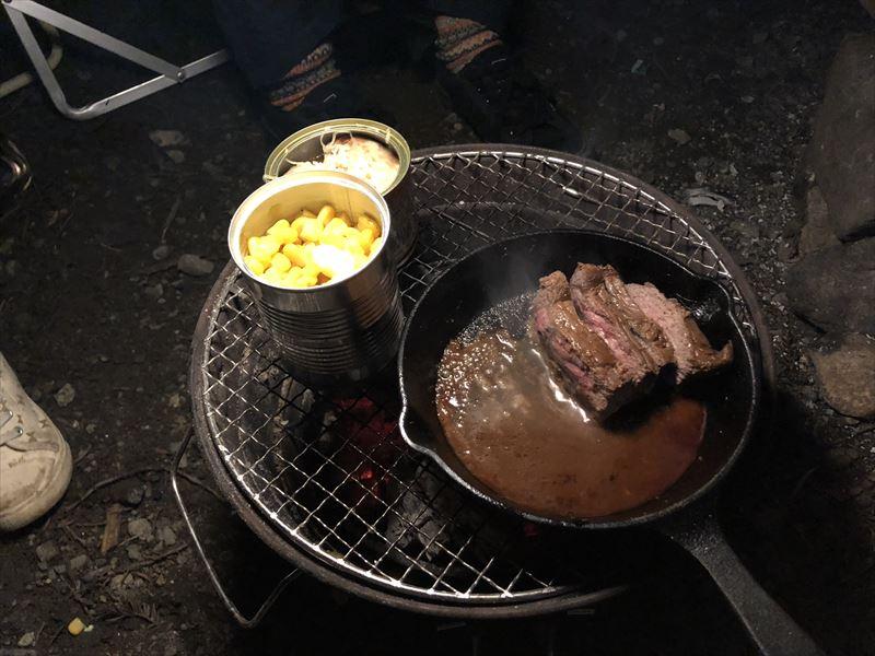 道志の森キャンプ場 缶詰祭り