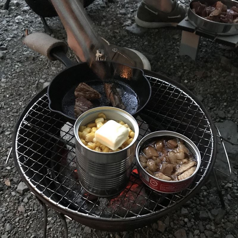 道志の森キャンプ場 缶詰
