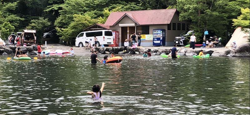 道志の森キャンプ場 プール01