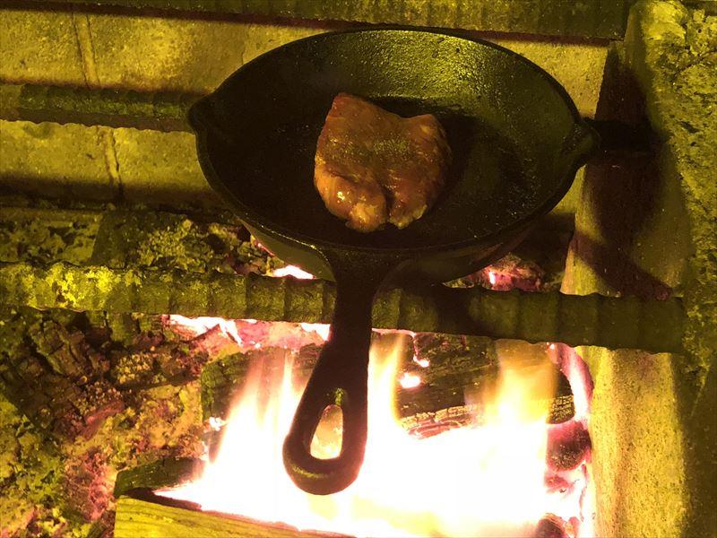十里木キャンプ場 もちろんお肉も♪