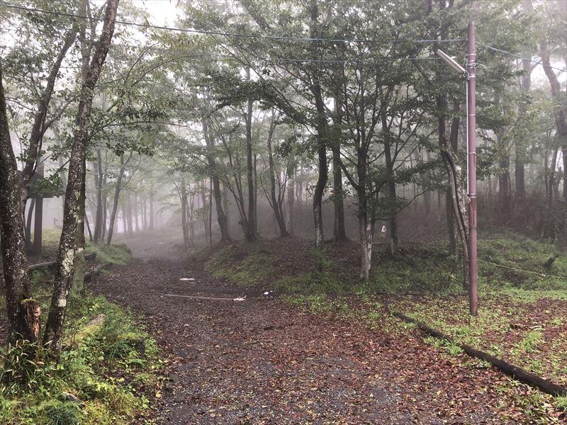 霧の十里木キャンプ場