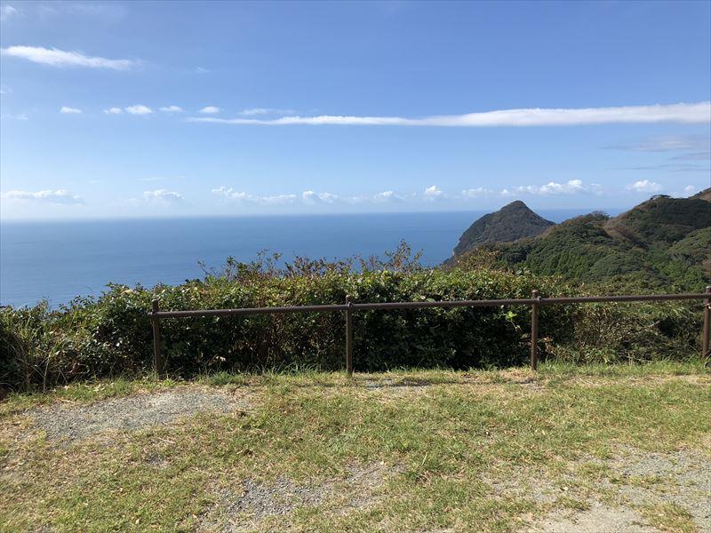 南伊豆 夕日ヶ丘キャンプ場 Aサイトからの眺め01