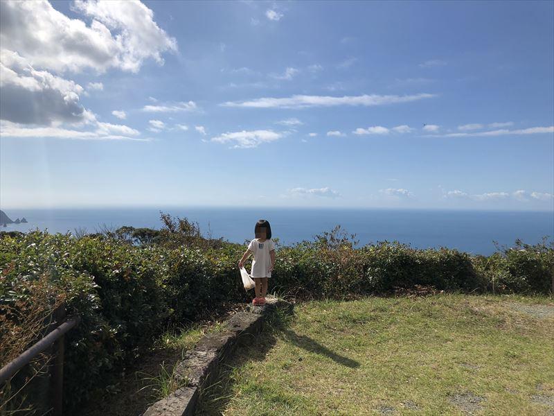 南伊豆 夕日ヶ丘キャンプ場 Aサイトからの眺め02