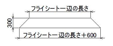 ワンポールテント防寒用スカート02-2