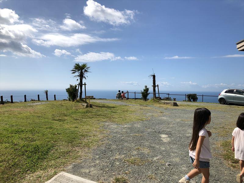 南伊豆 夕日ヶ丘キャンプ場 Bサイトからの眺め01