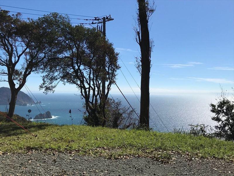 南伊豆 夕日ヶ丘キャンプ場 D-1サイトからの眺め02