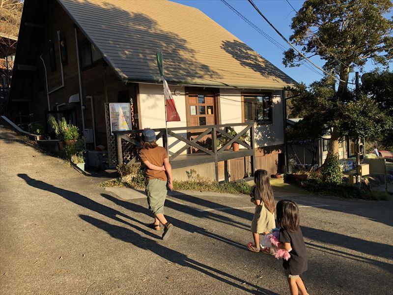 南伊豆 夕日ヶ丘キャンプ場 隣接 レストラン しいの木やま