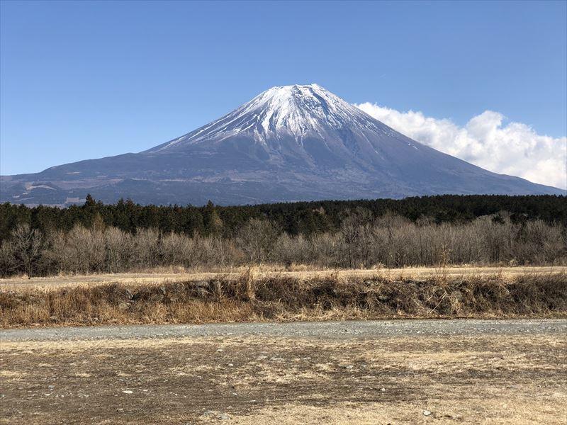 ふもとっぱら 「富士山の日」の富士山