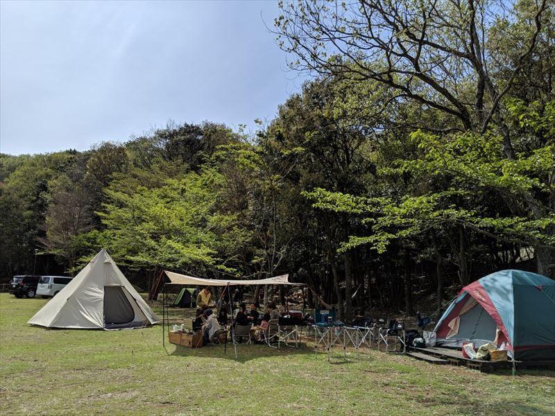 沼津市市民の森 グループキャンプ