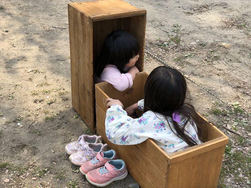 青野原オートキャンプ場 撤収作業時定番の遊び