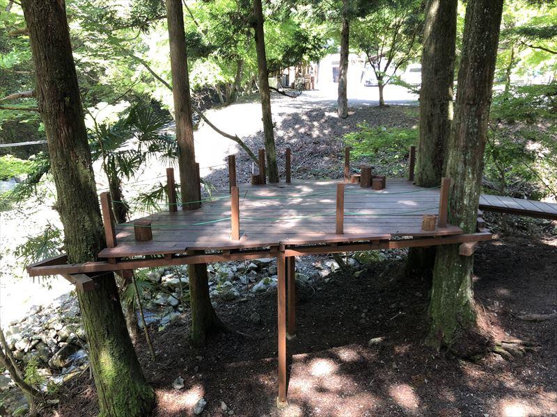 炭焼の杜 明ケ島キャンプ場 半月サイト01
