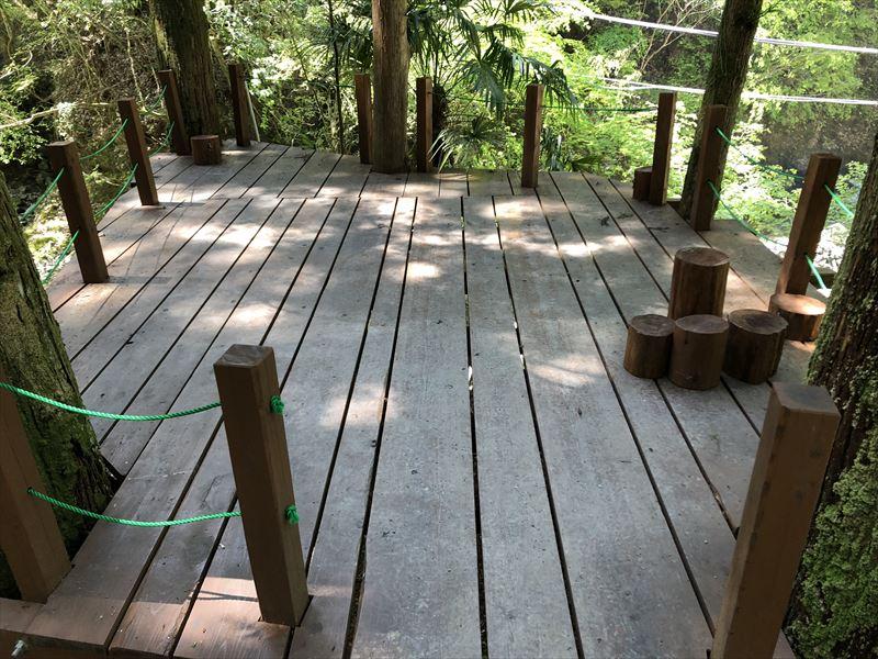炭焼の杜 明ケ島キャンプ場 半月サイト02