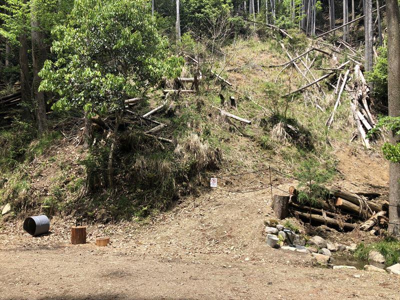 炭焼の杜 明ケ島キャンプ場 焚き火専用プライベートサイト THE FIRE PLACE(ジ ・ファイアプレイス)03