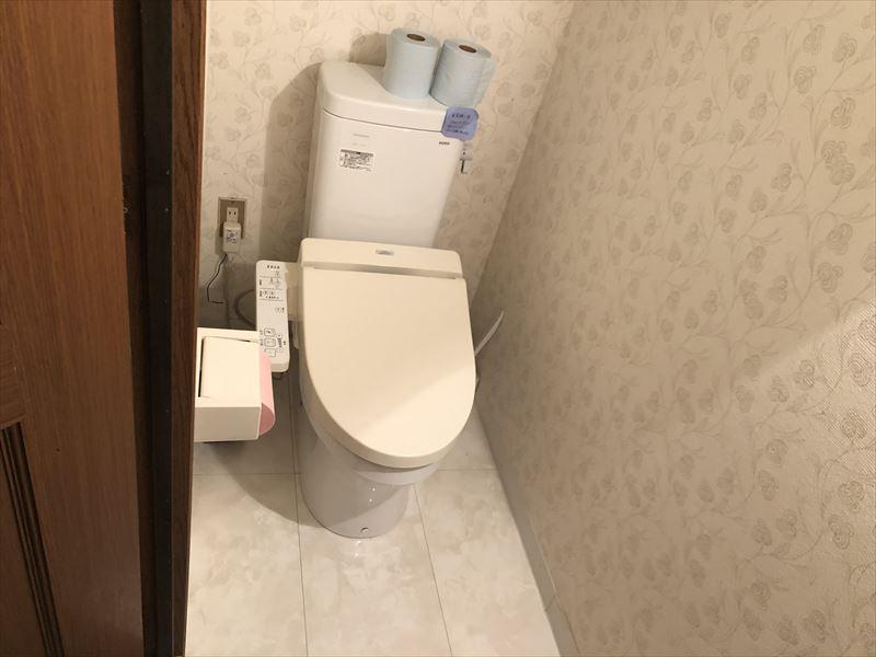 満緑カフェ&キャンプ場 トイレ