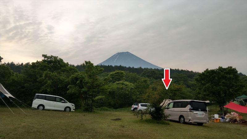 朝霧ジャンボリーオートキャンプ場 Iサイト ブランコ 02
