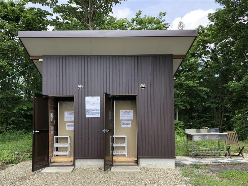朝霧ジャンボリーオートキャンプ場 Iサイト シャワー