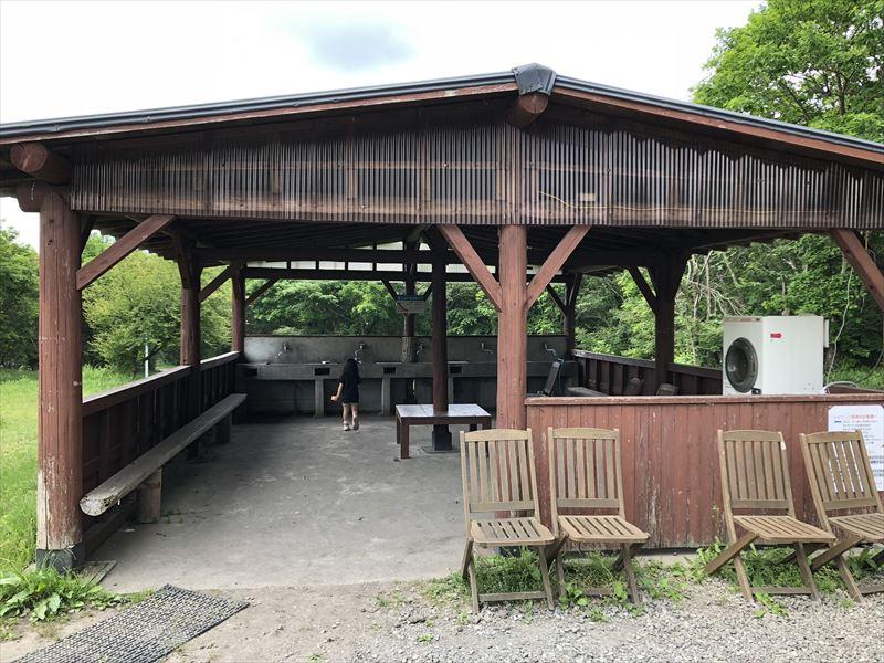 朝霧ジャンボリーオートキャンプ場 Iサイト水場
