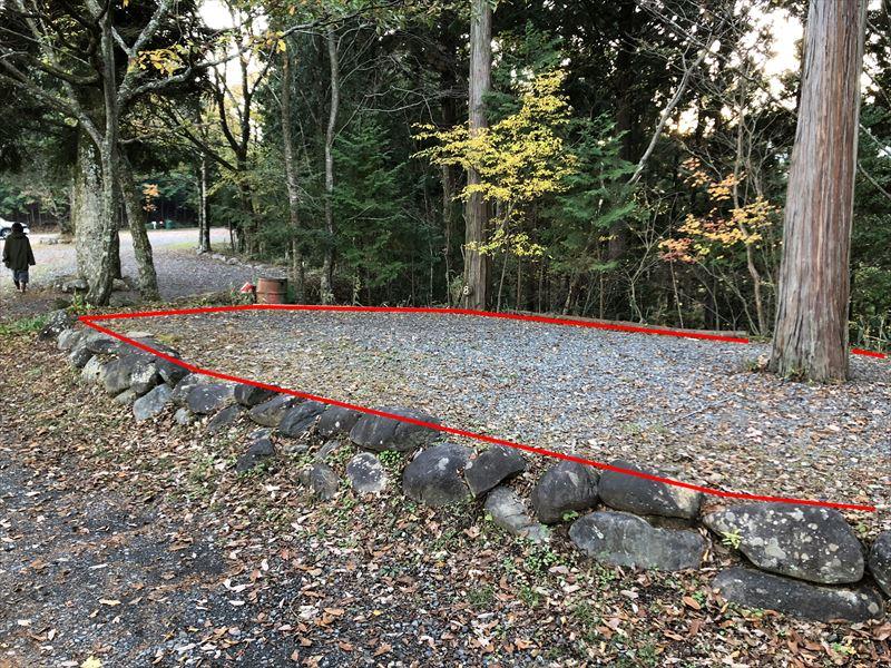 藤川キャンプヒルLUNA・Luna サイト8