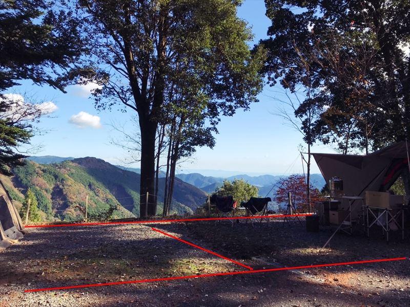 藤川キャンプヒルLUNA・Luna サイト11、12