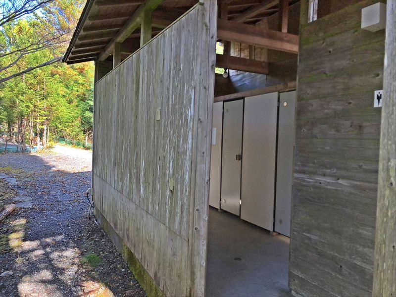藤川キャンプヒルLUNA・Luna トイレ