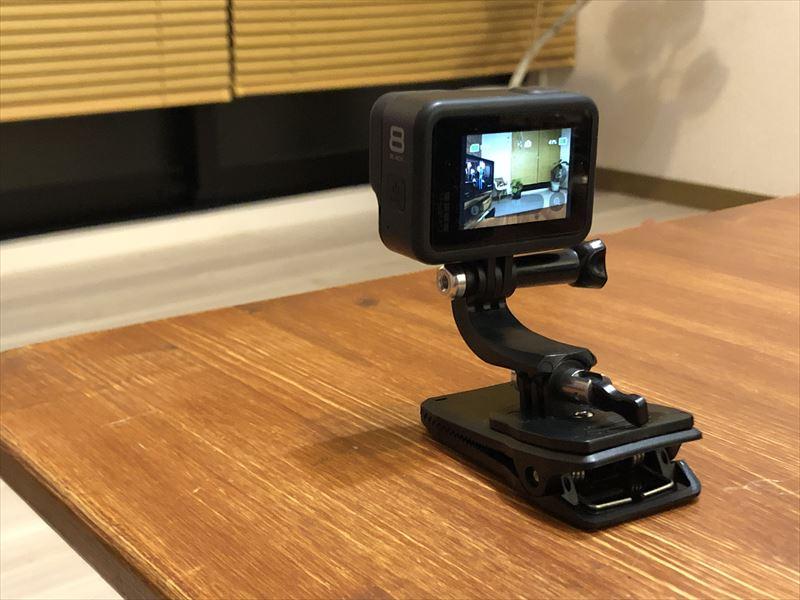 GoPro クリップ式 カメラマウント 02