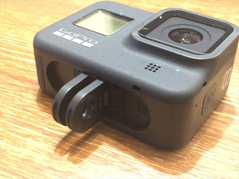 GoPro HERO8 アクセサリ固定部