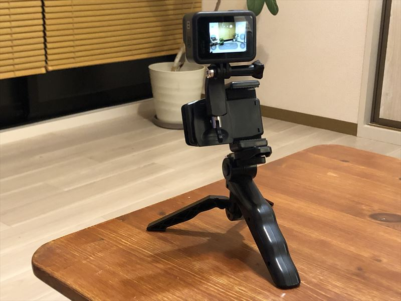 GoPro クリップ式 カメラマウント 03