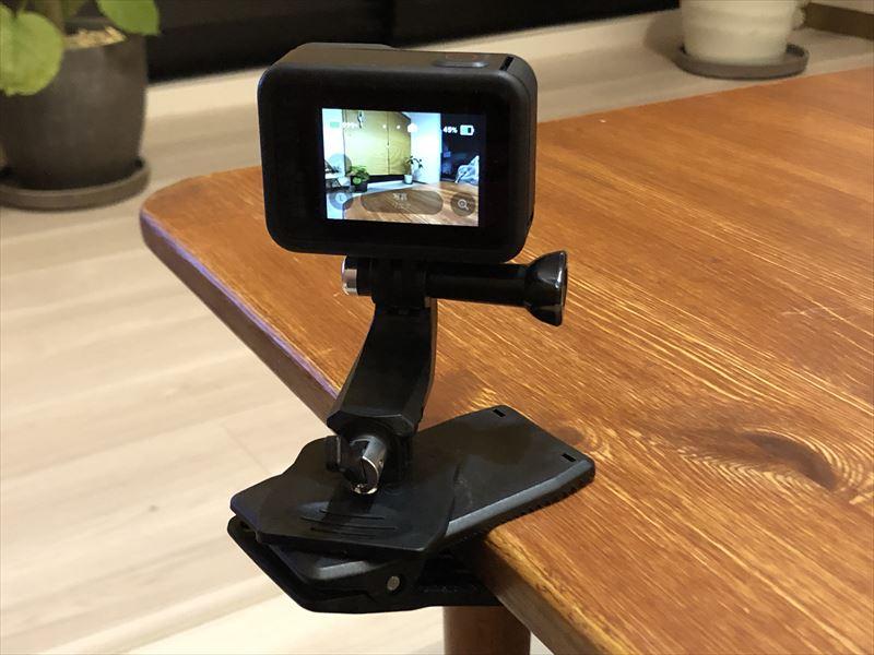 GoPro クリップ式 カメラマウント 01