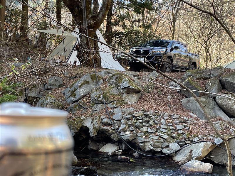 止水の道志の森キャンプ場 01