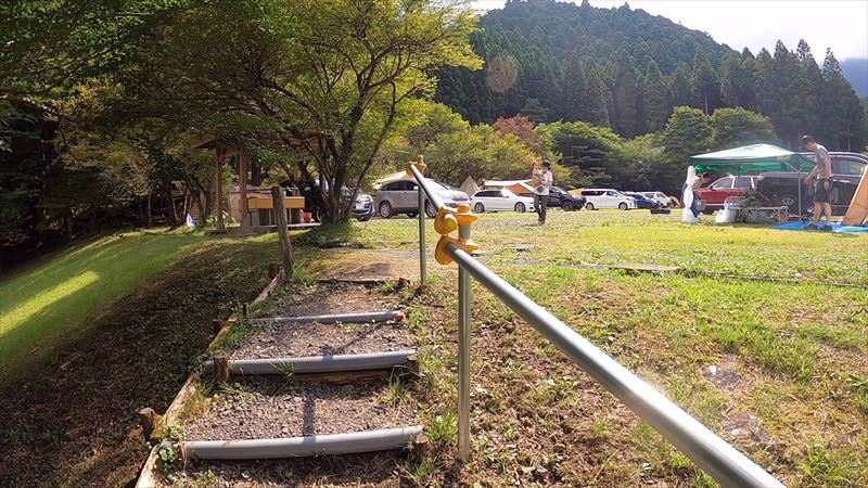 天子の森オートキャンプ場 広場キャンプ場01