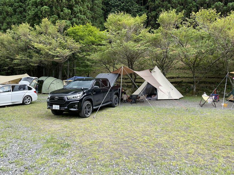 天子の森オートキャンプ場 広場キャンプ場02